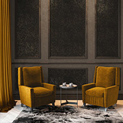 """Interior view of the wallpaper collection """"Absolutely Chic"""", A.S. Création Tapeten AG"""