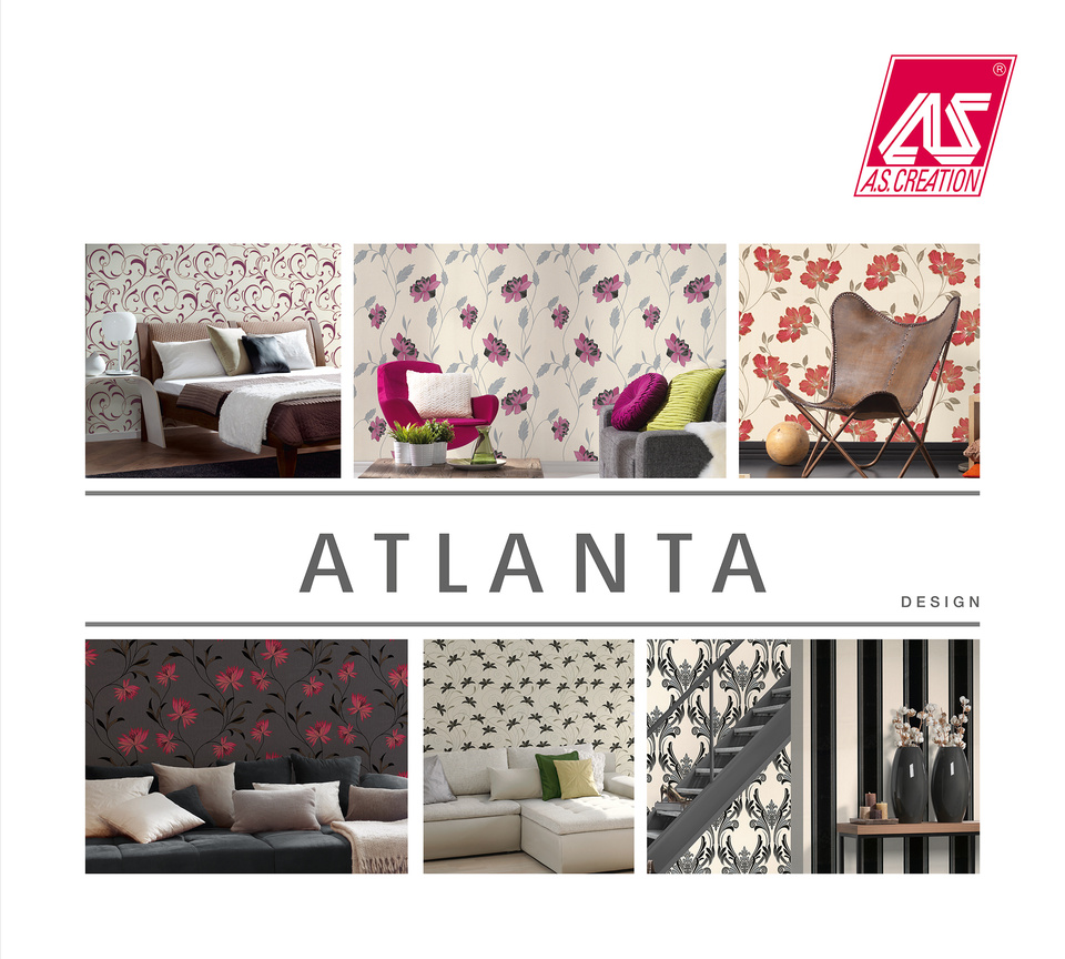 atlanta a s cr ation tapeten ag. Black Bedroom Furniture Sets. Home Design Ideas