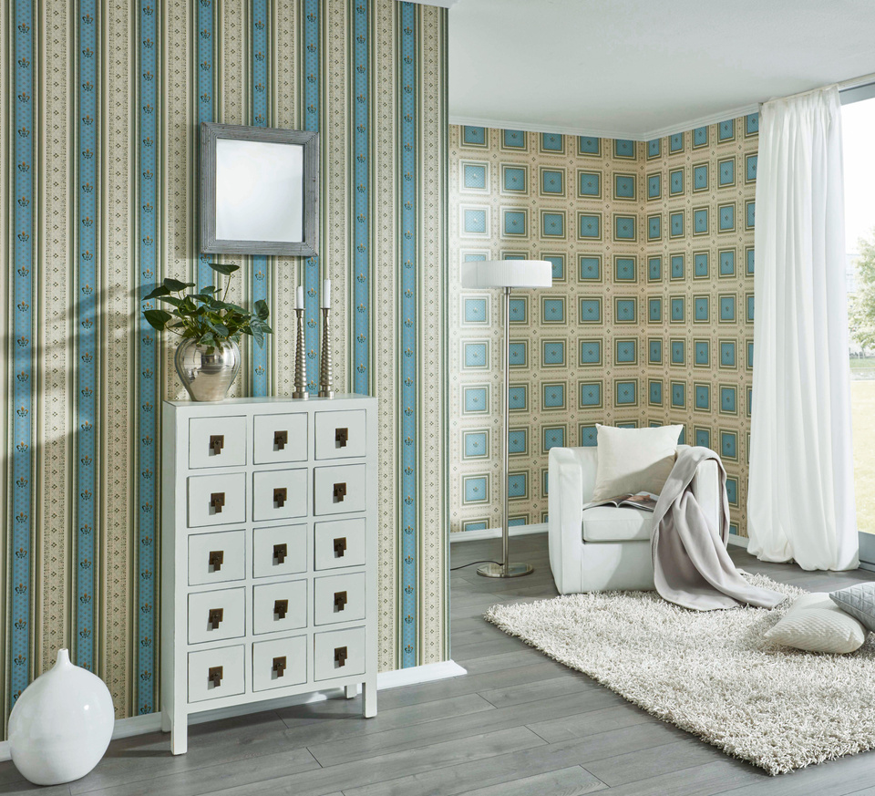 Interior View Of The Wallpaper Collection Hermitage  A S Creation Tapeten Ag