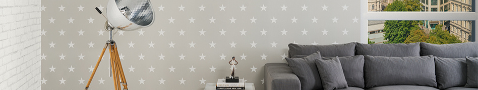 "Space image from the design-oriented ""HIGH RISE by MICHALSKY Living"" wallpaper collection by A.S. Création"