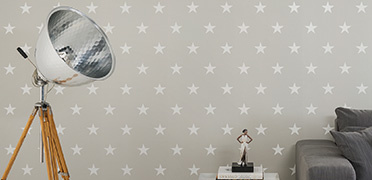 "Interior view ""Wien"" of the wallpaper collection ""HIGH RISE by Michalsky Living"""
