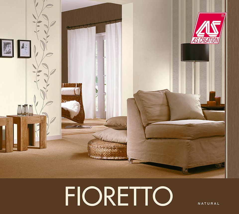 fioretto a s cr ation tapeten ag. Black Bedroom Furniture Sets. Home Design Ideas