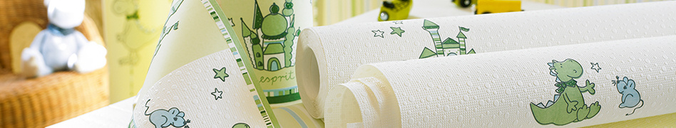 "Wallpaper rolls of the ""ESPRIT Kids"" collection - Dragon Castle"