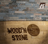 "Poster 3D de la nouvelle collection papiers peints modernes ""Best of Wood´n Stone 2"" par A.S. Création"
