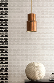 Interior view of the wallpaper collection Scandinavianstyle, A.S. Création