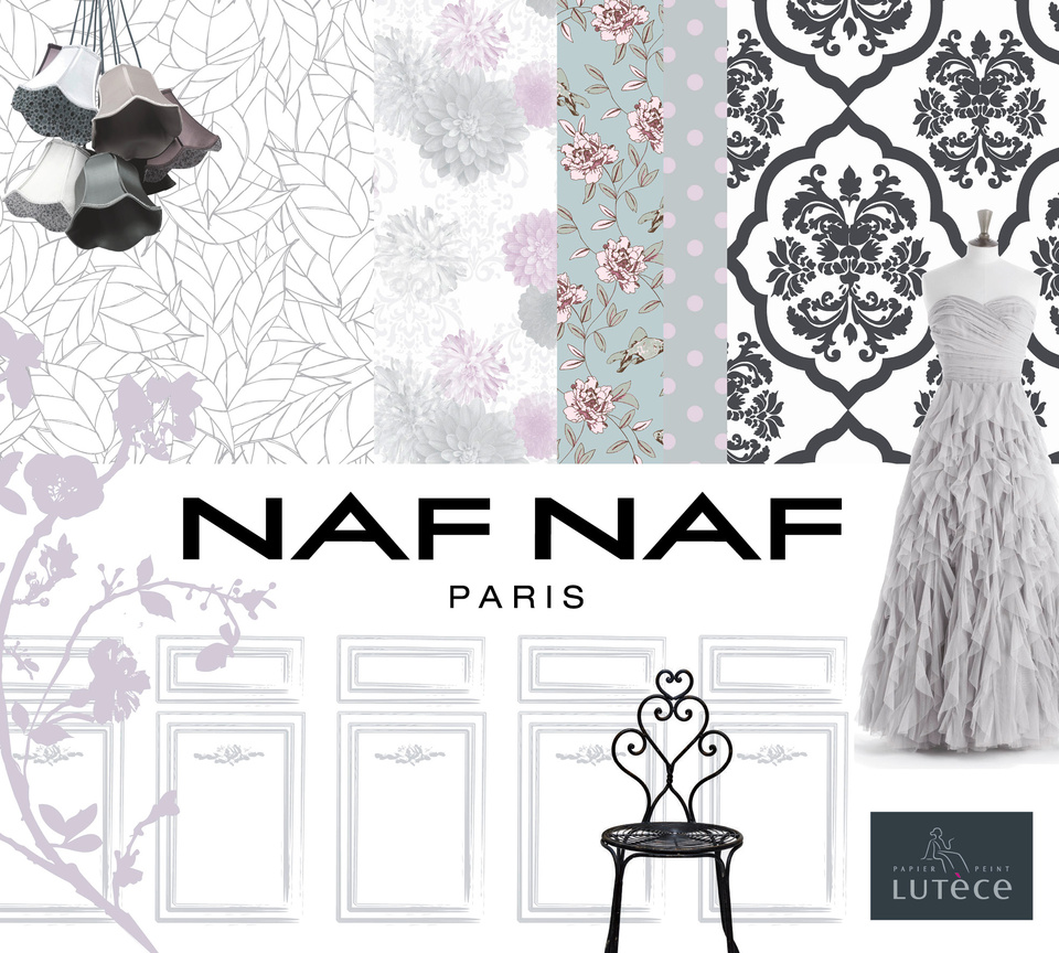 Cover For The Wallpaper Collection NafNaf Lutece AS Creation