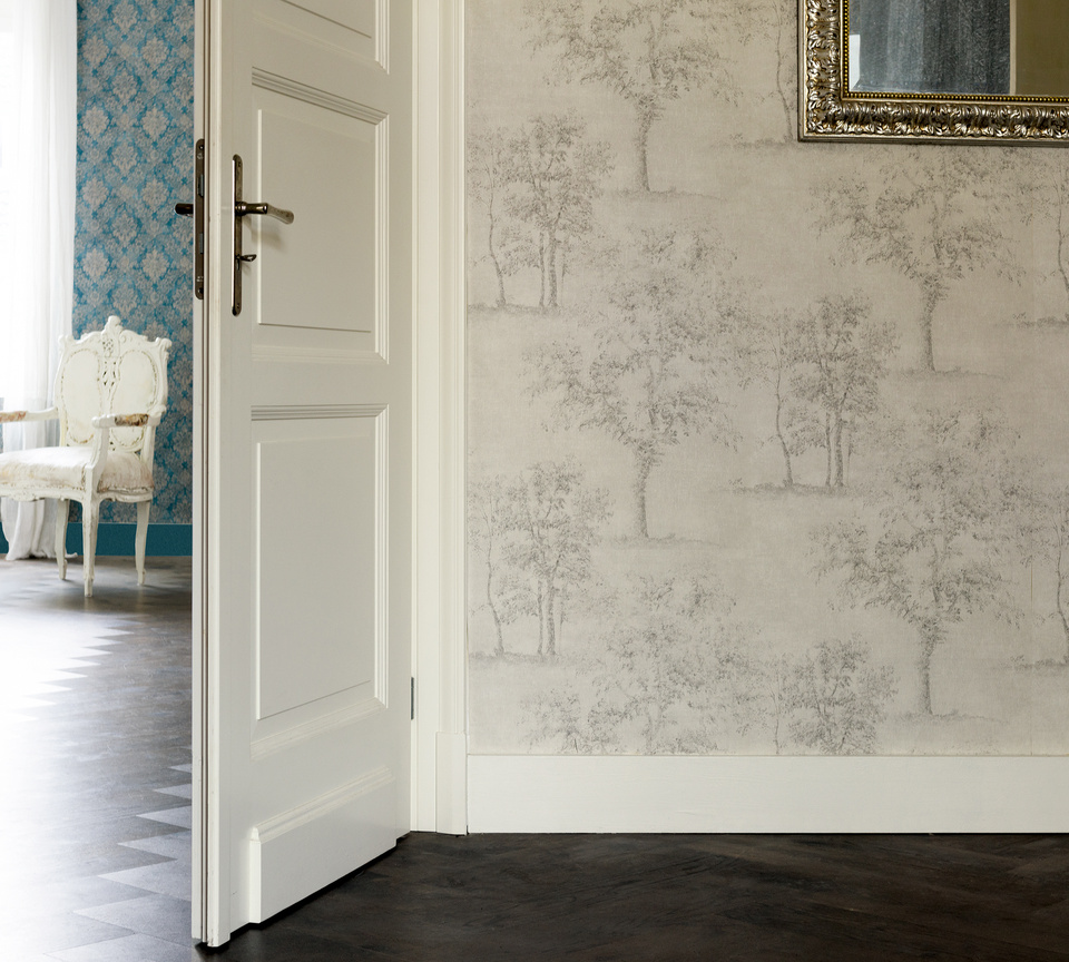 Interior View Of The Wallpaper Collection Secret Garden By A S Création Tapeten