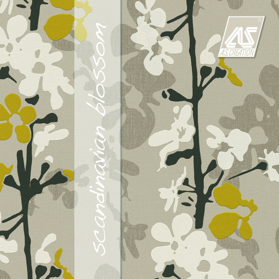 Fiona Wall Design Nordic Blossom : Scandinavian blossom a s cr?ation tapeten ag