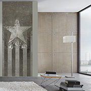 "Interior view ""New York"" of the wallpaper collection ""HIGH RISE by Michalsky Living"""