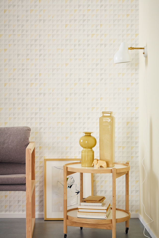 Interior View 14graphic Colours Of The Wallpaper Collection Schöner Wohnen 9 By A S Création Tapeten
