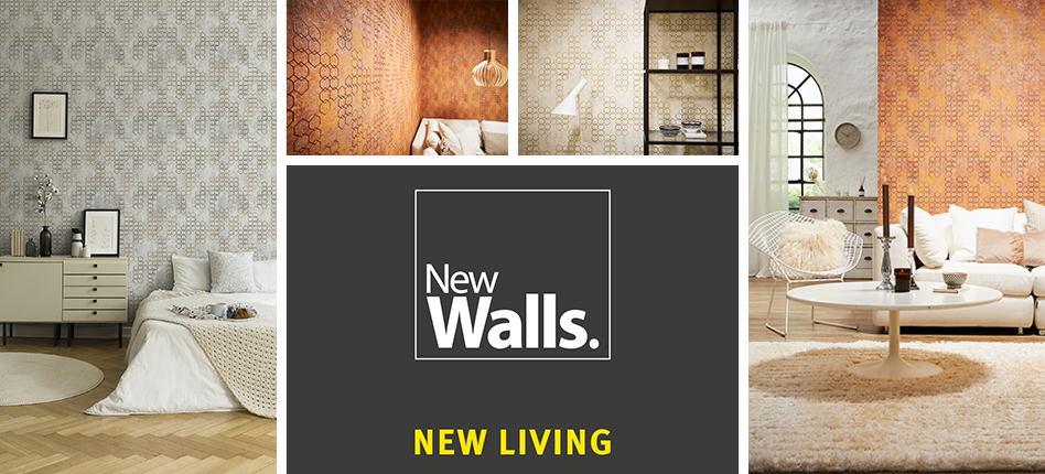 Logo NEW WALLS