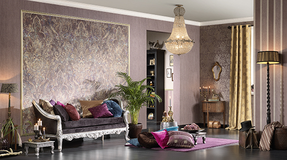bohemian a s cr ation tapeten ag. Black Bedroom Furniture Sets. Home Design Ideas