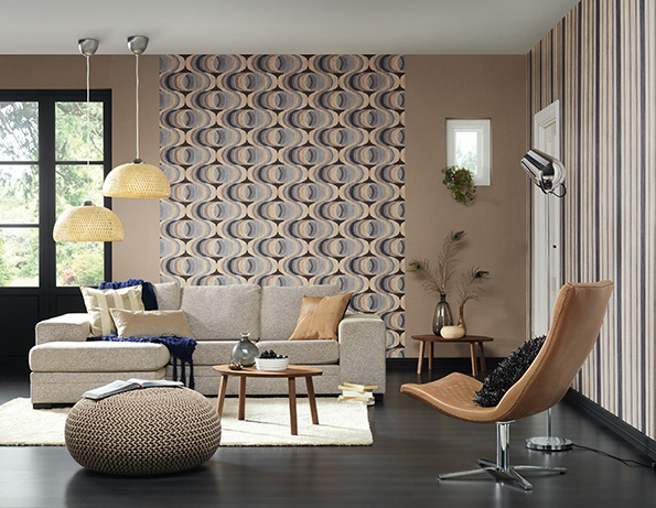 le chic a s cr ation tapeten ag. Black Bedroom Furniture Sets. Home Design Ideas