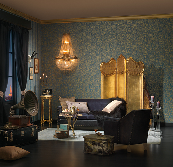 bohemian burlesque a s cr ation tapeten ag. Black Bedroom Furniture Sets. Home Design Ideas