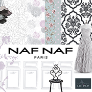 Cover for the wallpaper collection NAF NAF, Lutece, A.S. Creation