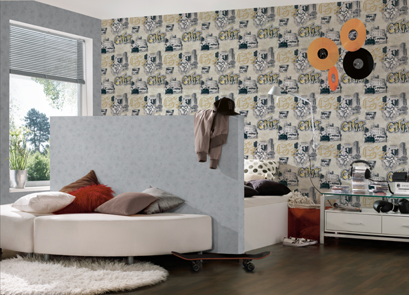2 Interior View Of The Wallpaper Collection Boys Girls 5 AS Creation