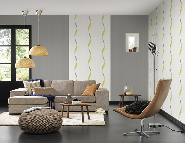 Interior View 2 Of The Wallpaper Collection Hula Hoop, A.S. Création Tapeten  AG
