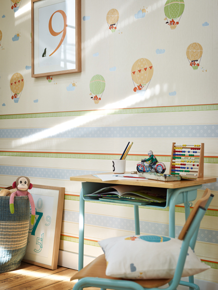 Interior View 2 Of The Lovingly Drawn Collection Of Childrenu0027s Wallpapers U201c Esprit Kids 4u201d