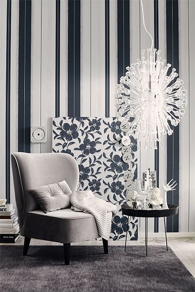 Interior View  Of The Wallpaper Collection Schoner Wohnen  By A S Creation